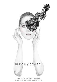 Birdy  Me : Illustrations  Musings by Kelly Smith: marion in VALENTINO