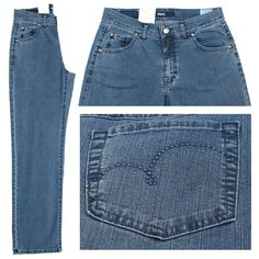 Angels Stretch Jeans / Form: Lilly / Farbe: mittelblau Jeans - FarbNr. 32 / im Angels Jeans Online Shop