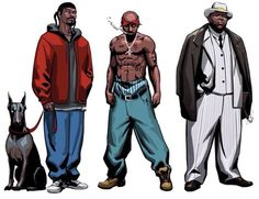 Snoop Dogg, Tupac, and Notorious B.I.G