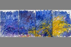Butler Institute of American Art presents last works by master painter Joan Mitchell