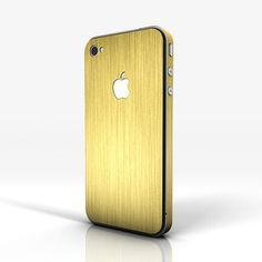 iPhone 4/S Brushed Gold now featured on Fab.