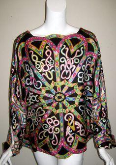 Vintage Emilio Pucci Silk Top