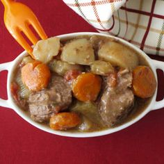 Slow Cooked Beef Stew | Spoonful  This was very good. I added more veggies, and wine. I used beef bouillon instead of stock