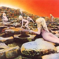 I HAD to have this album - Led Zeppelin - Houses of the Holy. I listened to it as I read The Exorcist. I always think of how creeped I was when I hear Dyer Maker.