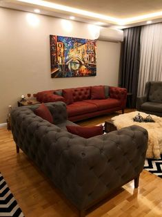Ideas living room sofa classic curtains for 2019 Living Room Red, Living Room Sofa, Living Room Decor, Sofa Design, Home Decor Furniture, Furniture Design, Drawing Room Furniture, Classic Curtains, Classic Sofa