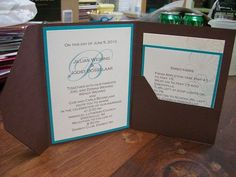 Wedding invitation by 4 Carla - Cards and Paper Crafts at Splitcoaststampers