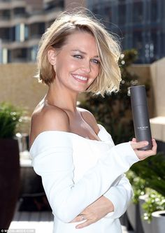 Expanding empire: The model turned entrepreneur revealed she will be adding two new produc...
