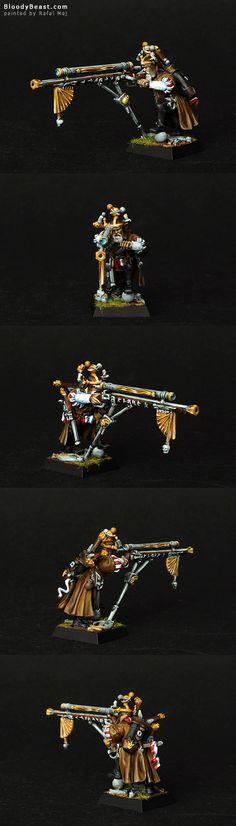 Empire Nuln Engineer w/ Hochland Long-gun.