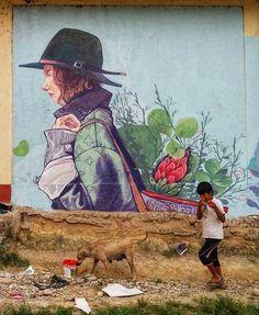 Street Gallery, Street Artists, Painting, Street Art, Urban Art, Movies, Painting Art, Paintings, Painted Canvas
