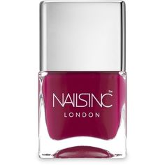 Nails inc Piccadilly Circus Nail Polish/4.37 oz. (19 CAD) ❤ liked on Polyvore featuring beauty products, nail care, nail polish, nails, apparel & accessories, nail varnish, opi nail lacquer, nail colour y nails inc.