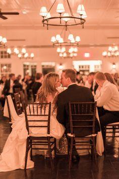 Golden Chesapeake Bay Beach Club Wedding