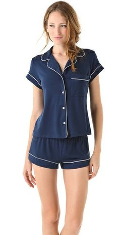 eberjey makes the best pjs. this set is perfect for summer.