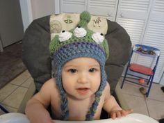 Toy Story Alien Inspired Crochet Hat by CrazyLeggies on Etsy, $18.00