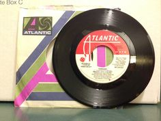 Original Cast The Wiz Tornado Vintage Vinyl 45 Promotional Record 1975 Atlantic Records 45-3272 by NostalgiaRocks