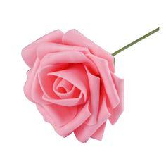 Новый горячая распродажа 1 шт. искусственный пена розовыми цветами главная букет свадебный ну вечеринку ремесло декор сделай сам цветок диаметром 8 см HG-09373