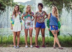 Estampas características da Farm são primeira parceria brasileira da Adidas Originals; linha chega às lojas em março | Chic - Gloria Kalil: ...