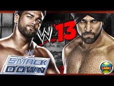 WWE 13 Justin Gabriel vs Jinder Mahal