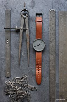 WATCHES | brown leather | simple design