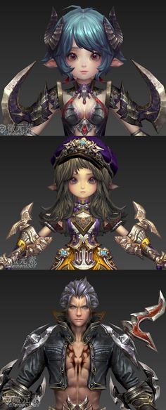 224244b3fz3t0mtktm80... Female Character Design, Character Modeling, Character Creation, Game Character, Character Concept, Concept Art, Hand Painted Textures, 3d Hand, Low Poly Models