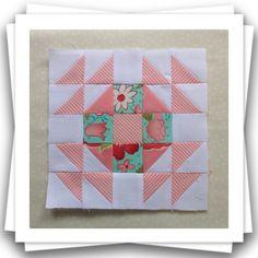 Threadbare Creations- Chatelaine Free BOW Sampler Quilt Block 58