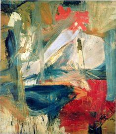 Willem de Kooning - Abstract Expressionism - (fundamental) PAINTING - Willem de Kooning