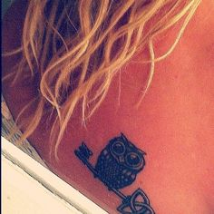 Download Free Celtic owl tattoo | Tattoo Ideas | Pinterest to use and take to your artist.