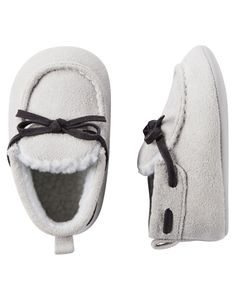 Baby Boy Carter's Moccasin Slippers | Carters.com