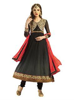 Admyrin Women's Georgette Anarkali Suit With Chiffon Dupatta Large Black Admyrin http://www.amazon.com/dp/B00X9KDKIM/ref=cm_sw_r_pi_dp_oG77vb1PACJTG