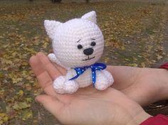 Котенок амигуруми. Часть 1. (Crochet. Cat/Kitten. Amigurumi. Part 1) - YouTube
