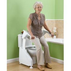 A discreet and effective means of providing assisted toilet transfers.