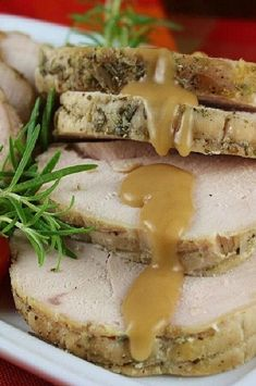 """Slow Cooker Herbed Turkey Breast 