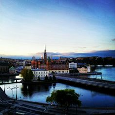"""Love the whole city, but Gamla Stan, the """"Old Stockholm,"""" is a must experience. Look in all the shops, where you'll find beautifully-designed clothing so stunning it's art. Talk to everyone you can."""