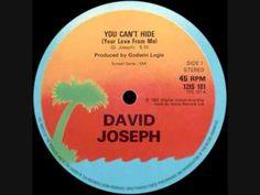 David Joseph - You Cant Hide (Your Love From Me) (+lista de reproducción)