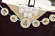Corona Wedding by Melissa Munding Photography Fall Wedding, Rustic Wedding, Our Wedding, Wedding Gifts, Dream Wedding, Wedding Stuff, Doily Garland, Burlap Banners, Party
