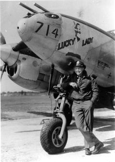 Warbirds — usaac-official: Lt. Helding and his Lucky Lady....