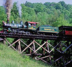 *Tweetsie Railroad, Blowing Rock, North Carolina
