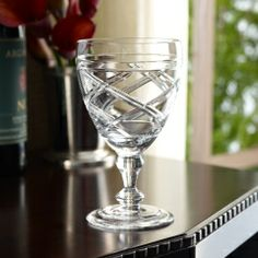 Brogan Red Wine Glass - Ralph Lauren Home Tabletop - Ralph Lauren UK