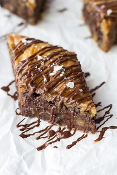 Salted Chocolate Chip Cookie Baklava...omg!