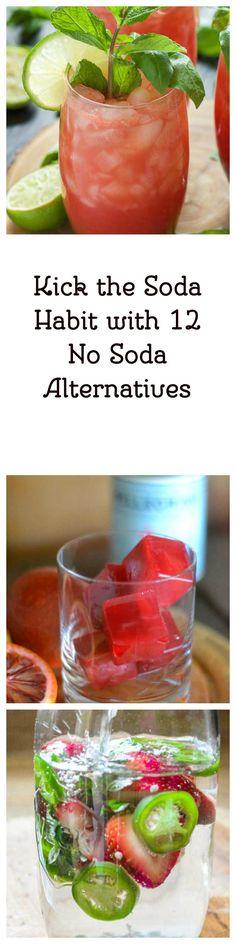 Kick the Soda Habit with 12 No Soda Alternatives