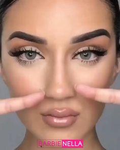 Nose Makeup, Skin Makeup, Makeup Contouring, Face Contour Makeup, How To Contour Nose, Bronzer Vs Contour, Scary Doll Makeup, Face Contouring Tutorial, Flawless Face Makeup