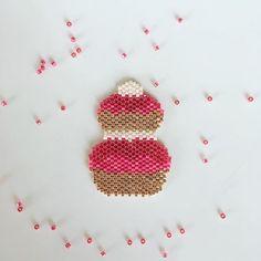 Brick stitch religieuse.