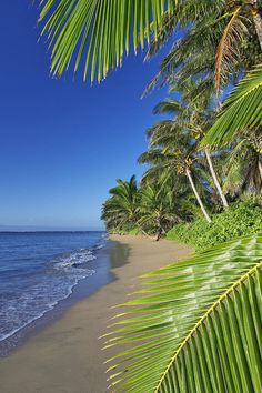 Molokai Beach, Hawaii