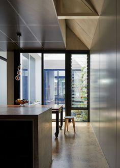 Dinning table on wheels - from In a Neighbourhood of Workers Cottages, There's One Dark Horse