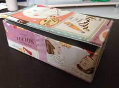 How to Make a New Box From Tissue Box
