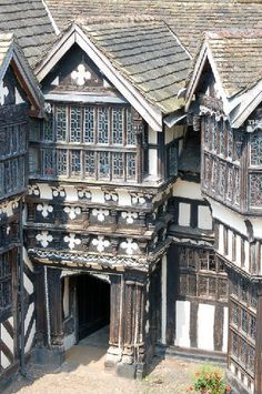 Little Moreton Hall, Cheshire, England
