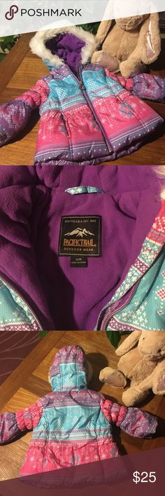 Selling this Cutest Snow Jacket on Poshmark! My username is: longjoyfullife. #shopmycloset #poshmark #fashion #shopping #style #forsale #Pacific Trail #Other