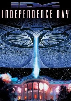 Independence Day (1996) When aliens in enormous spacecraft suddenly arrive in Earth's atmosphere and start blowing things up, it falls to a cocky pilot (Will Smith) and a goofy scientist (Jeff Goldblum) to save the planet from total destruction. With plenty of action, special effects sequences and pithy one-liners, Independence Day is one of the 1990s' best popcorn flicks. Bill Pullman co-stars as the gung-ho president who urges his citizens to fight back.
