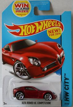 (TAS020965) - Hot Wheels City 2014 - Alfa Romeo 8C Competizione - 29/250