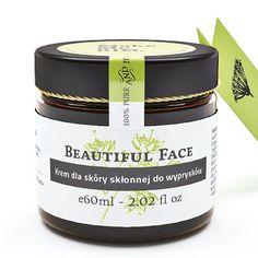Beautiful Face – Krem dla skóry skłonnej do wyprysków 60ml Make Me Bio