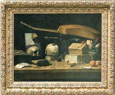Jacques LINARD Paris ?, vers 1600 - Paris, 1645  Les Cinq Sens et les Quatre Élménts (avec objets aux armes de la famille de Richelieu).  1627